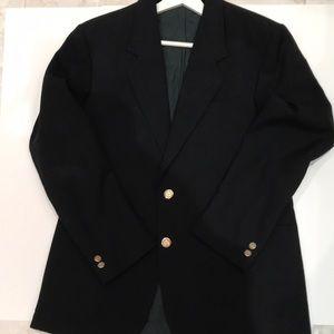 Young men black blazer